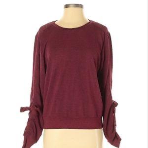 Maroon Zella Sweater